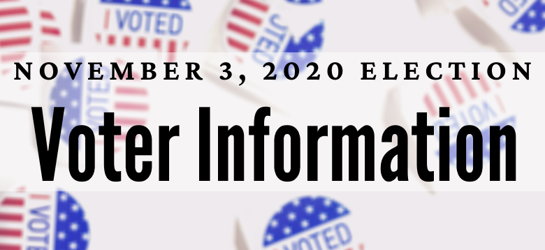 2020 Election Voter Information